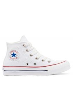Converse Chuck Taylor all star Kids Lift Eva blanc