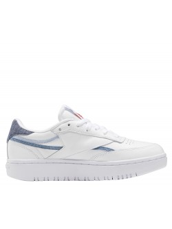REEBOK Club C85 double blanc / jean