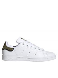 Adidas Stan Smith kids Primegreen bicolore kaki / noir