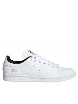 Adidas Stan Smith Primegreen bicolore blanc / noir signature