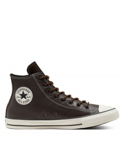 Converse Chuck Taylor all star cuir marron