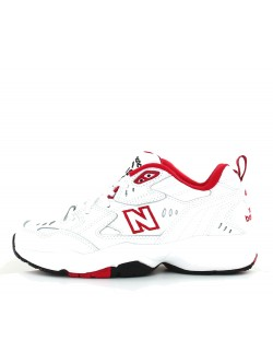 New Balance WX708 cuir blanc rouge