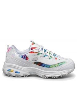 Skechers D'lites blanc multicolor