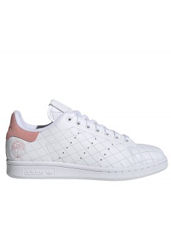 ADIDAS Stan Smith matelassé blanc rose