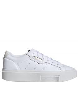 ADIDAS Sleek Plateforme blanc