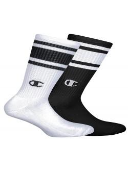 Champion chaussette haute noir / blanc blanc / noir