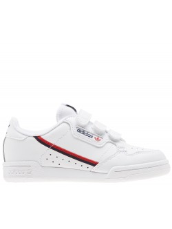 ADIDAS Continental80 KD Velcro blanc