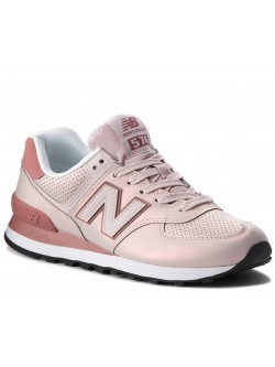 New Balance WL574 iridescent shell
