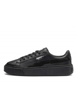 Puma Cadet Plateform bling black