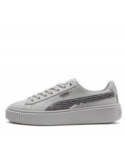 Puma Cadet Plateform bling gray