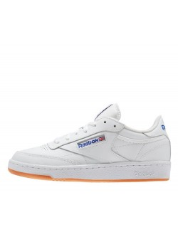 REEBOK Club C85 cuir blanc / royal