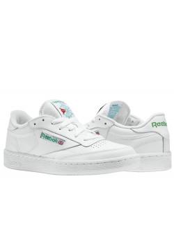 REEBOK Club C85 cuir blanc / vert