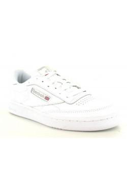 REEBOK Club C85 ado cuir blanc / gris