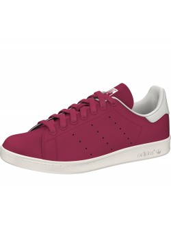 Adidas Stan Smith suède magenta