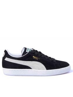 Puma suède classic noir / écru