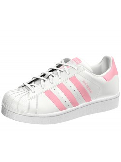 ADIDAS Superstar kids blanc / pink