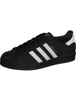 Adidas Superstar cuir noir / blanc