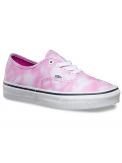 Vans Z  Authentic toile tie dye rose