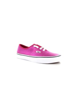 Vans Authentic cuir metallic rose
