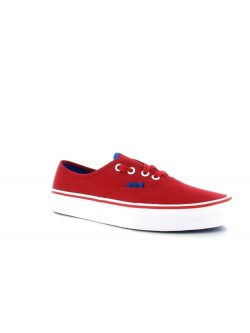 Vans Authentic toile Pop Chines rouge