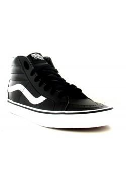 Vans Sk8 cuir noir / blanc