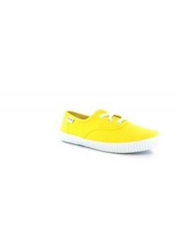 Victoria toile junior jaune