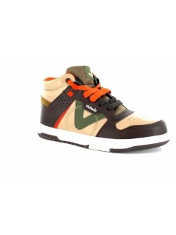 Victoria junior Sneaker marron / beige