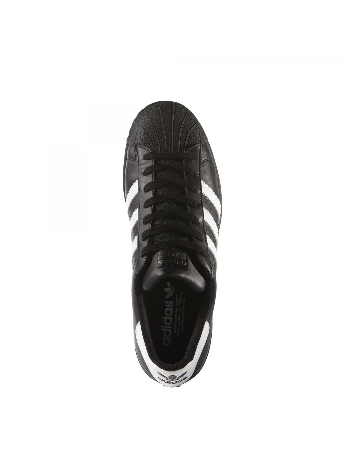 ADIDAS Superstar cuir noir blanc