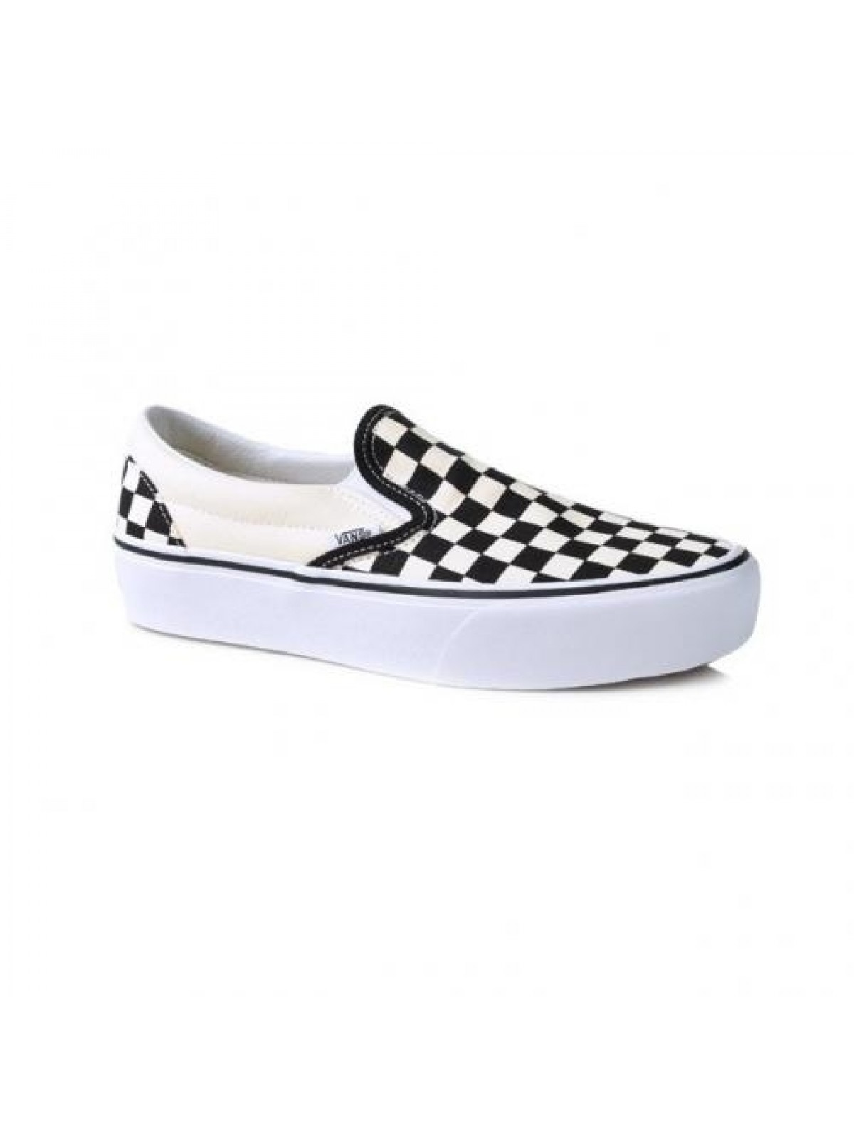 Vans Slipon Plateforme damier noir / blanc - Vans - Marques