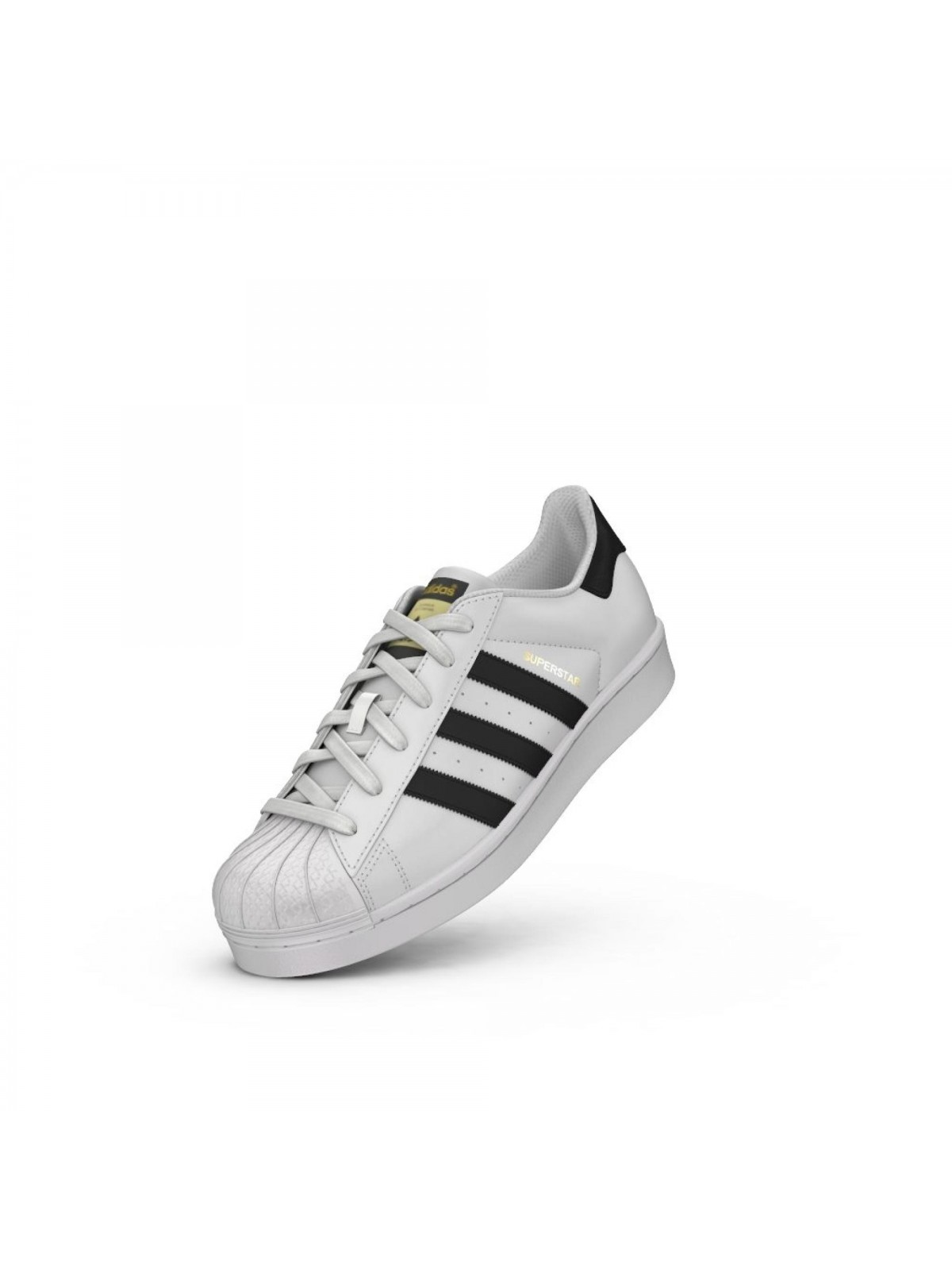 ADIDAS Superstar cuir blanc / noir / or - Superstar - ADIDAS - Marques