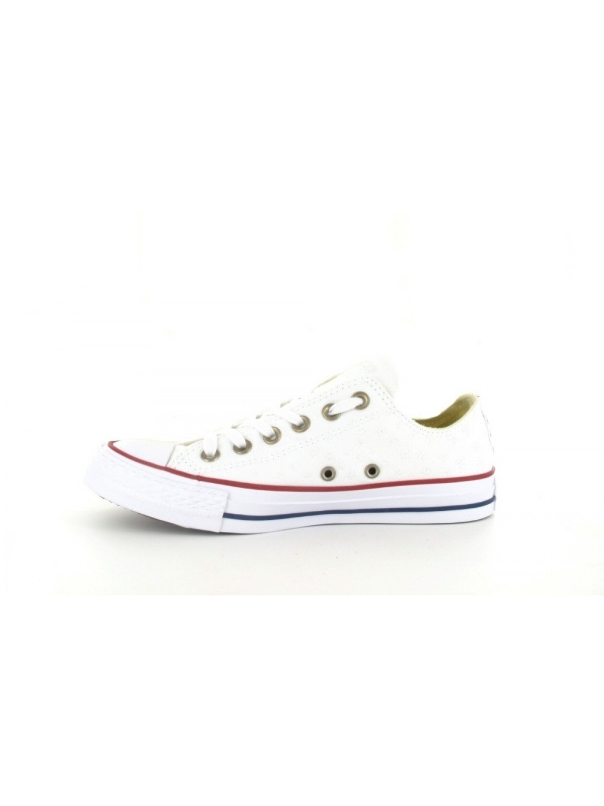 afb731a3be559 Converse Chuck Taylor all star toile basse blanc étoile
