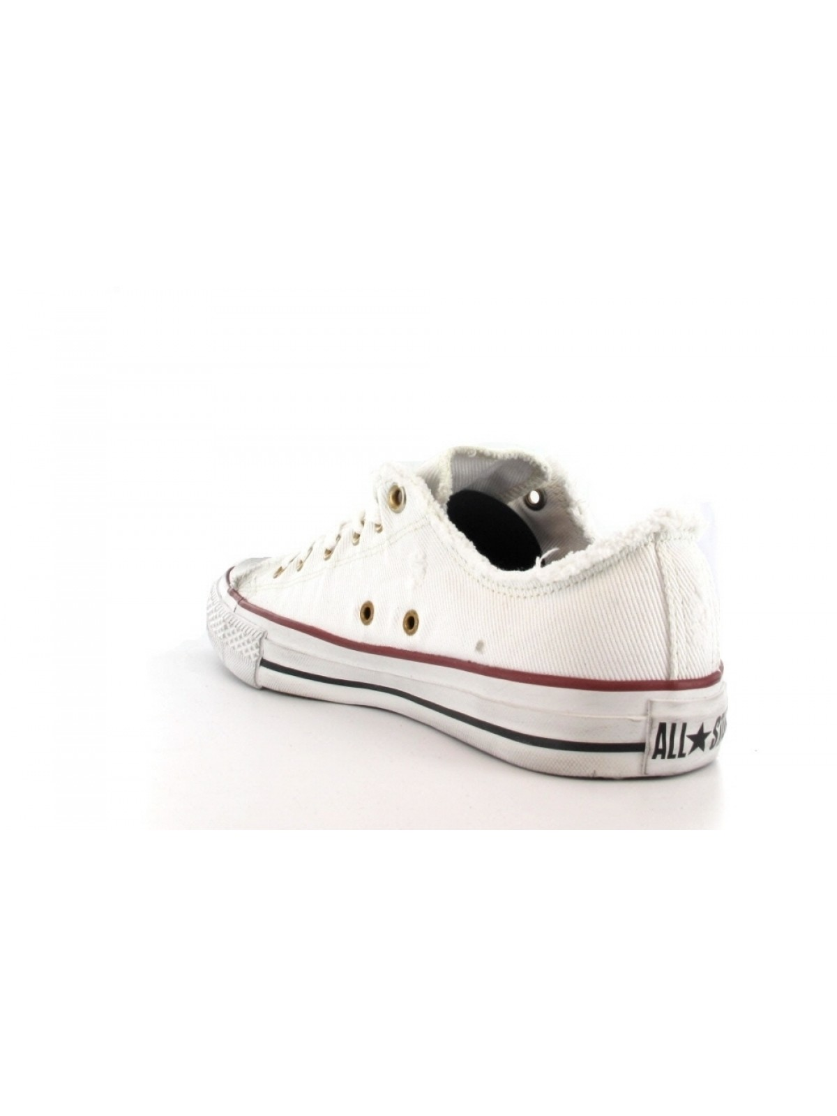 Converse Chuck Taylor all star toile basse jean blanc