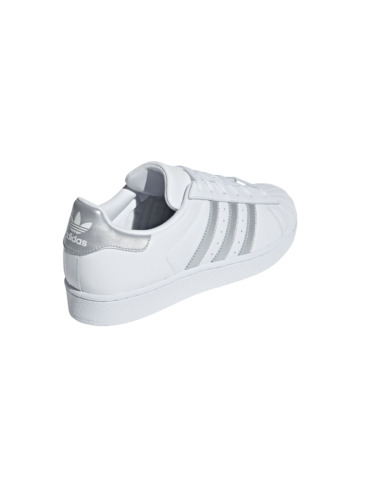 adidas superstar blanc et gris