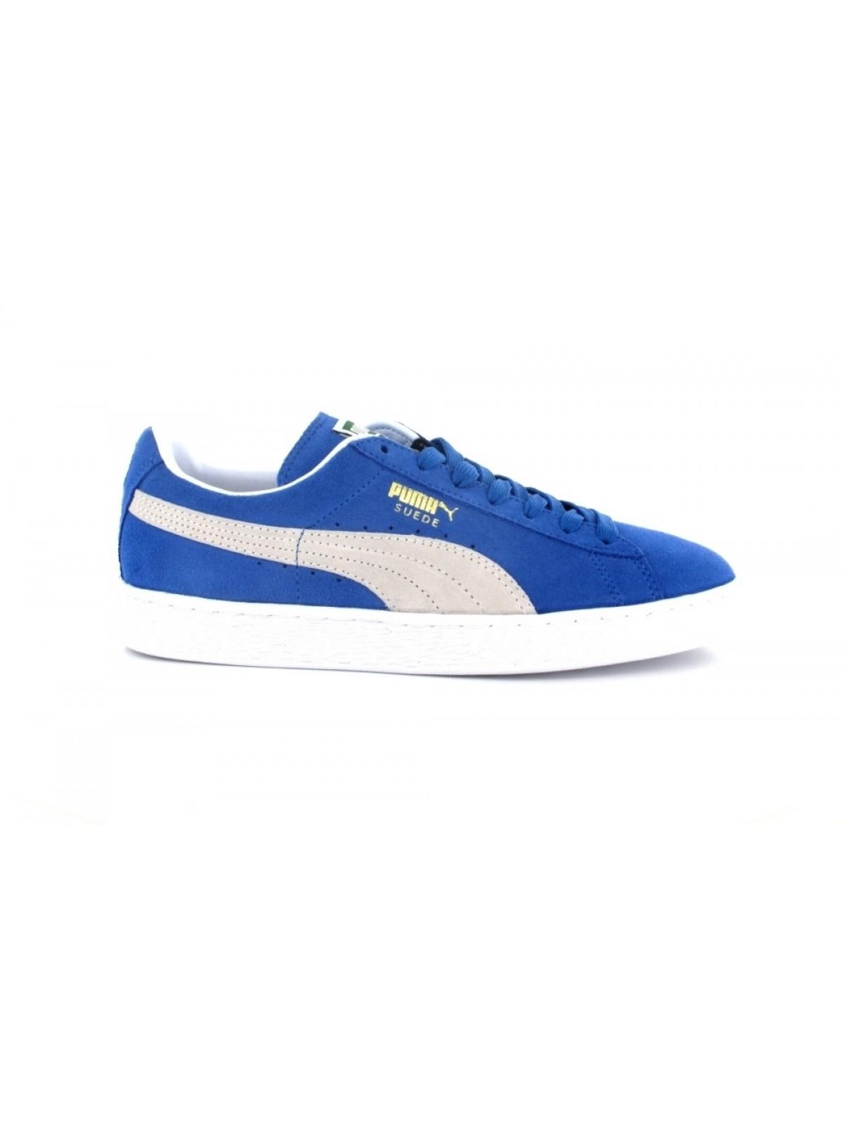 puma suede classic bleue